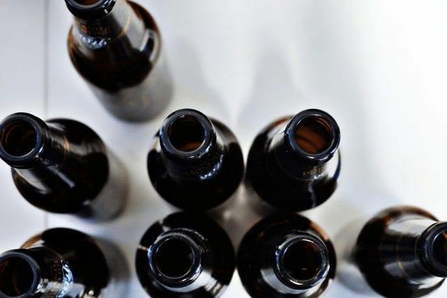 cerveza artesanal en botella