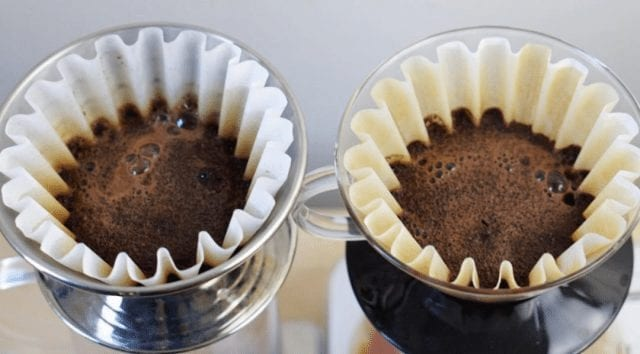 cafe en metodo kalita