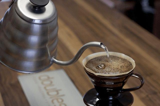 preparacion de cafe