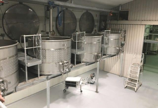 recipientes de acero de fermentacion