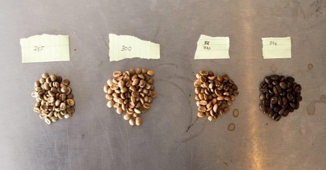 tuestes de cafe