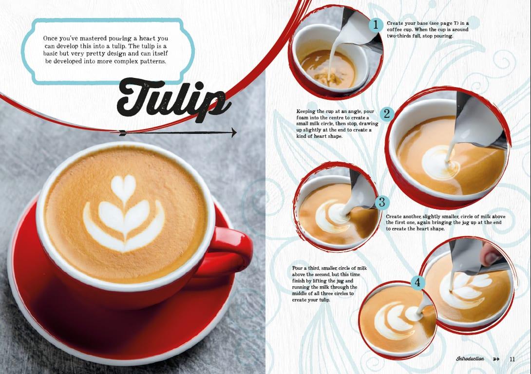 5 time latte art champion publishes latte art design book. Black Bedroom Furniture Sets. Home Design Ideas
