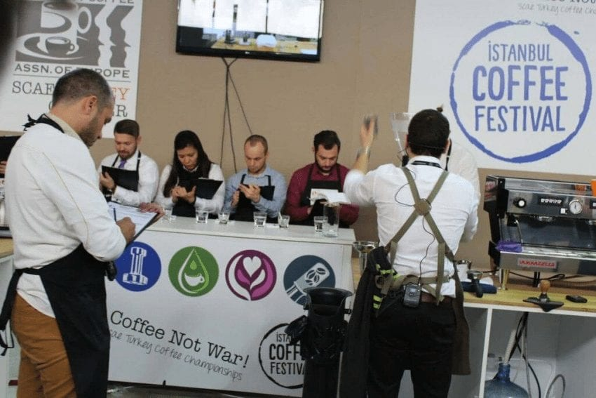 competencia de barismo en istanbul