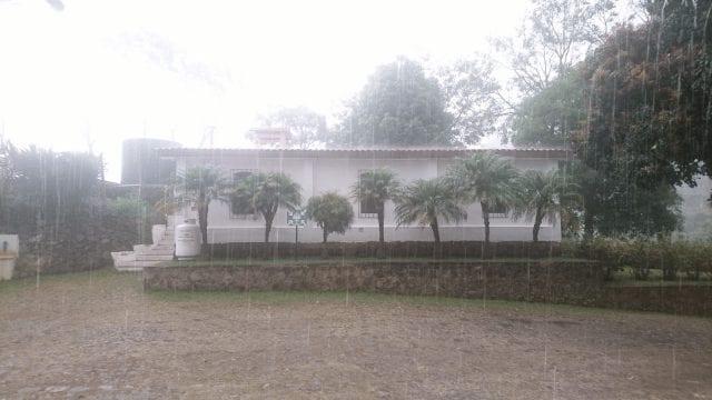 lluvia en el MCF El Salvador