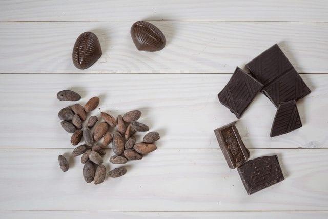 granos de cacao de especialidad