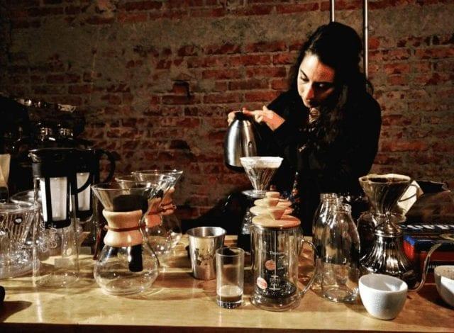 cafe en metodo de filtro