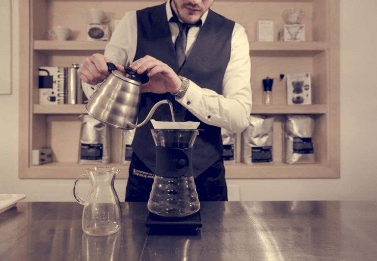 metodo de preparacion de cafe