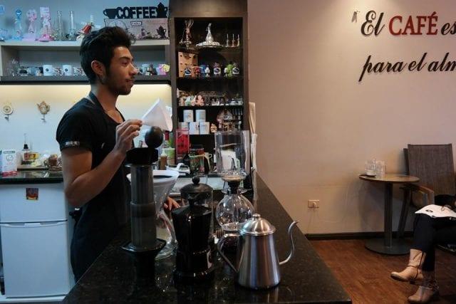 Paraguay coffee scene