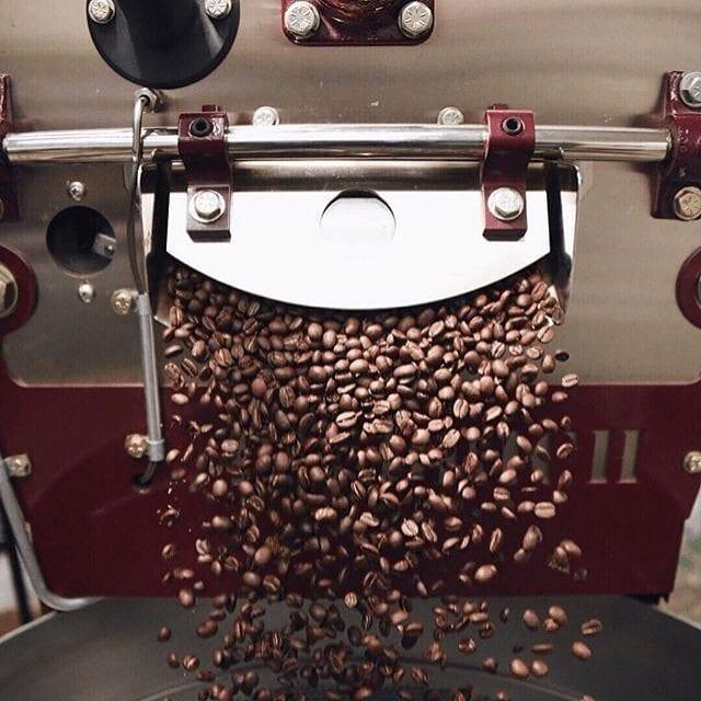 tostando cafe