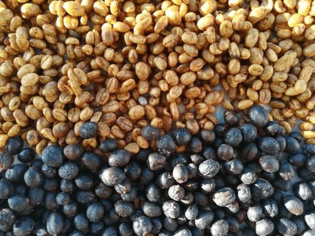 Honeys y naturales secándose