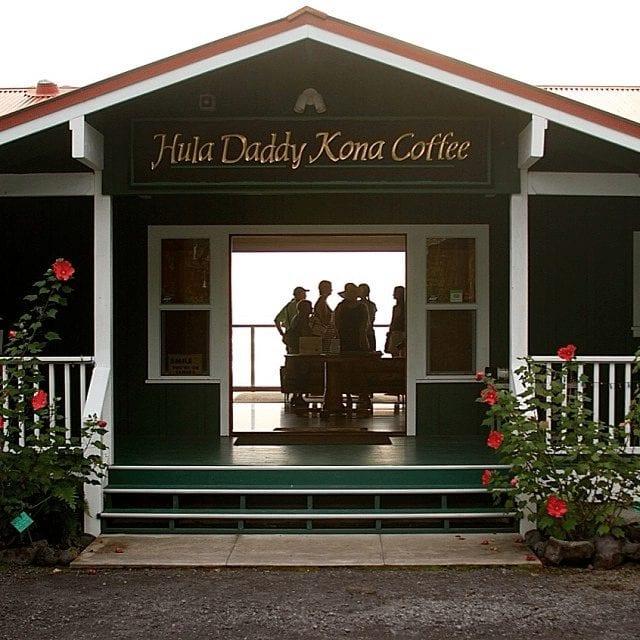 Tienda de Café en Hawaii