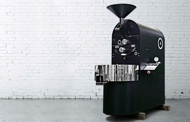 La tostadora industrial tuesta café