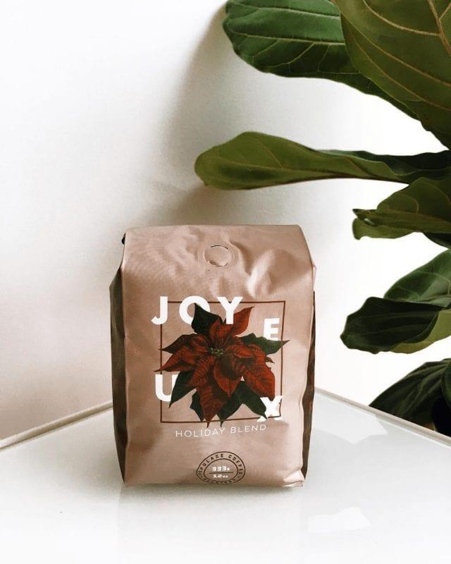 Bolsa de un blend de café