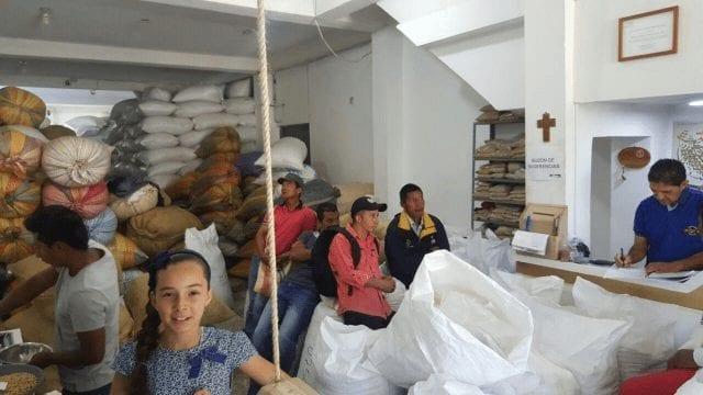 Centro de acopio de café