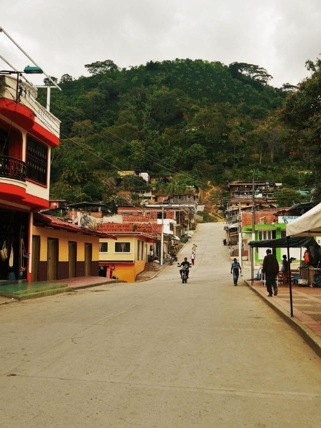 Montaña del pueblo