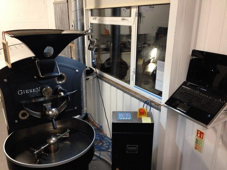 Máquina para tostar café