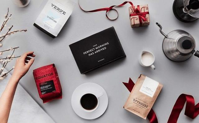 Bolsas de café para regalo en navidad