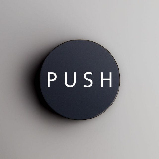push coffee tamper