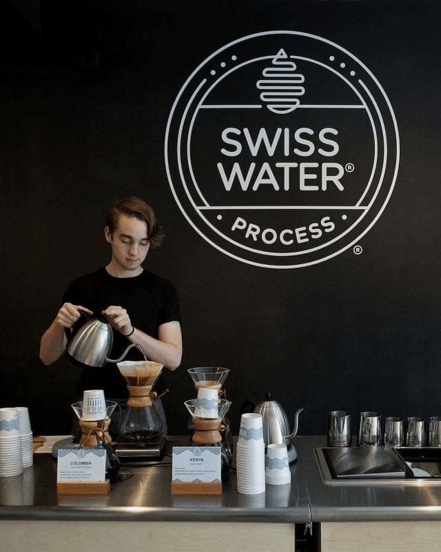 proceso de cafe swiss water