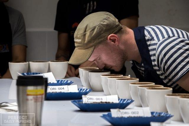 Catador de café