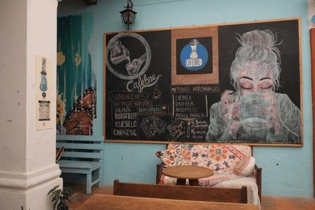 Arte en cafe
