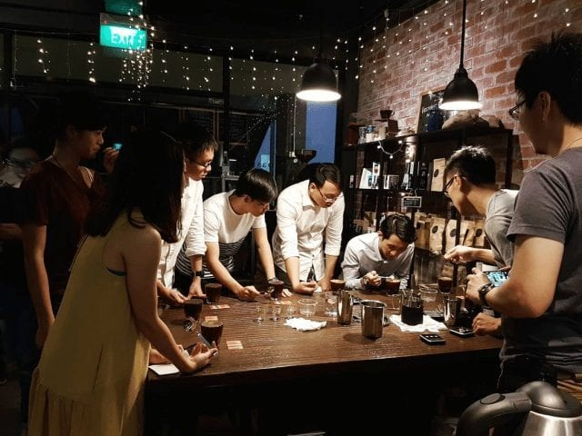 Entrenamiento barista