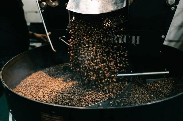Tueste de cafe