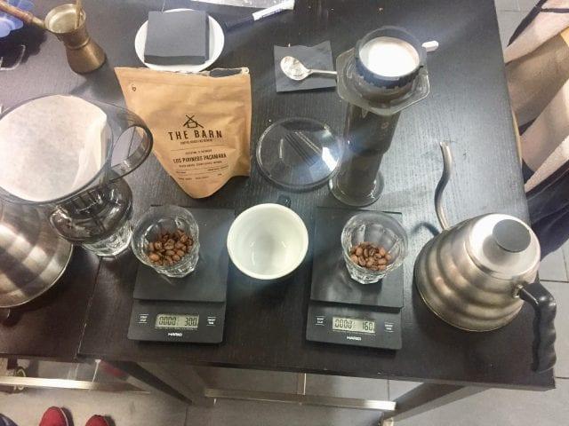 نسبتهای دم آوری قهوه