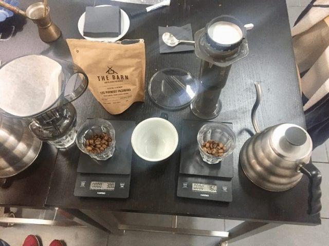 elementos de cafe