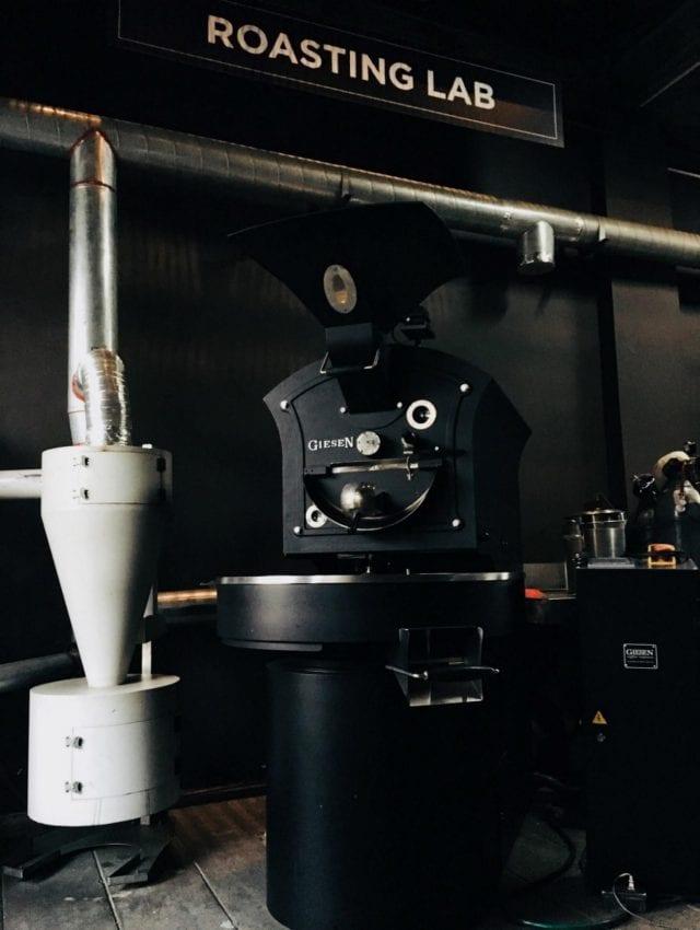roasting lab