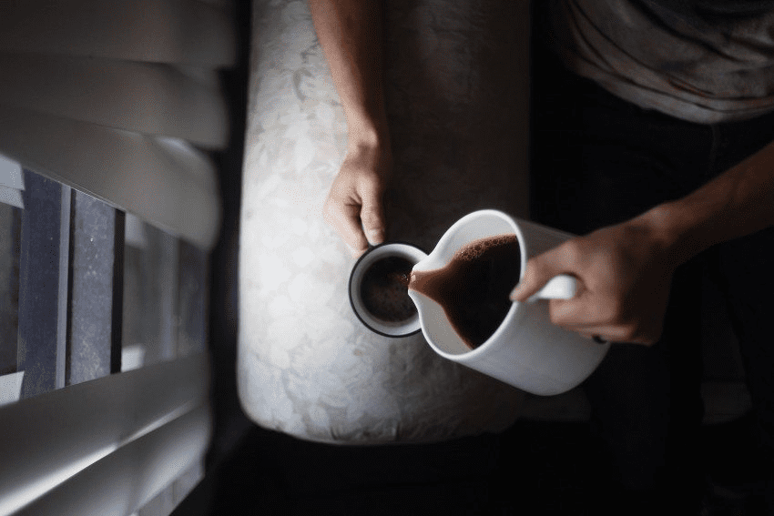 cafe oscuro