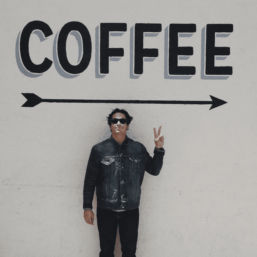 consumidor de cafe