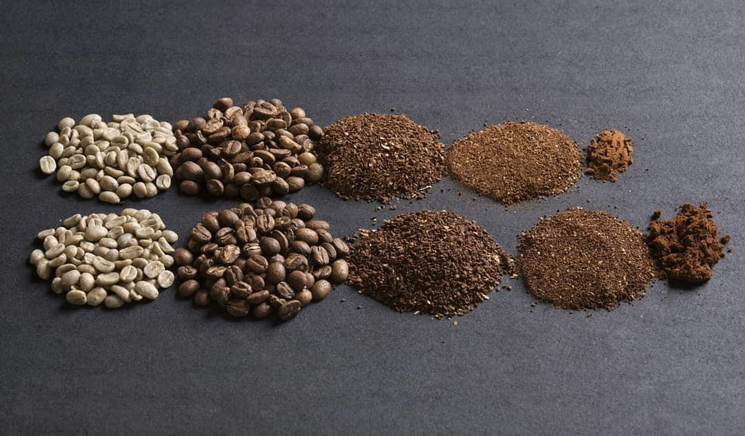 sizes of coffee