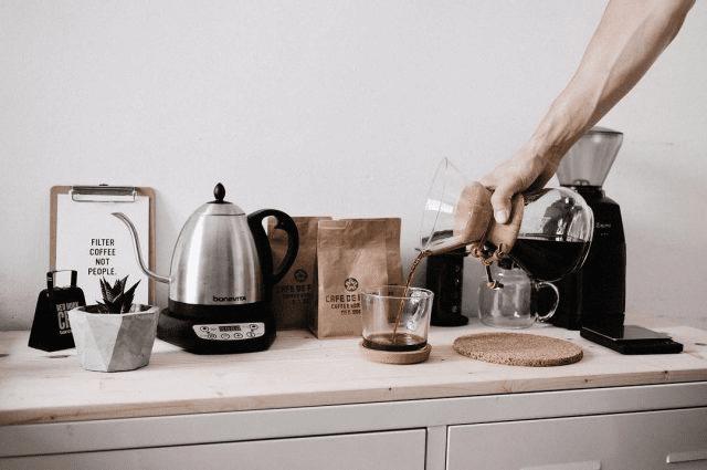 cafe en casa
