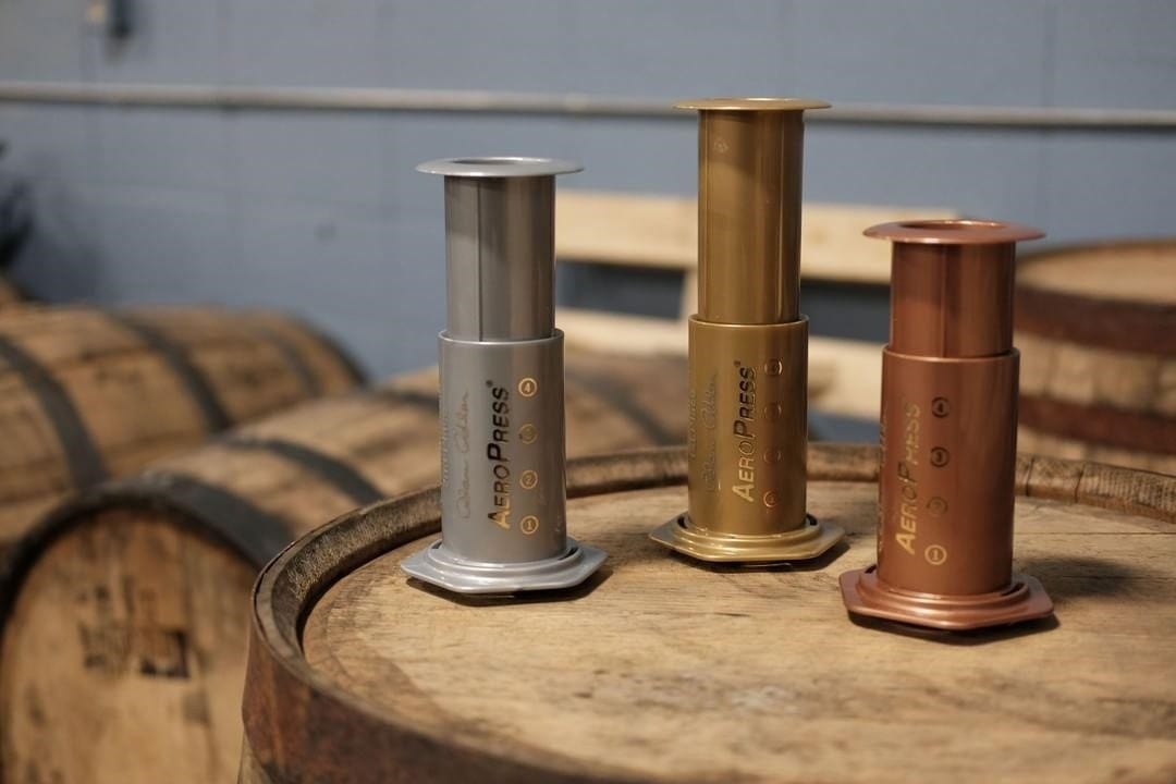 trophies for the World AeroPress