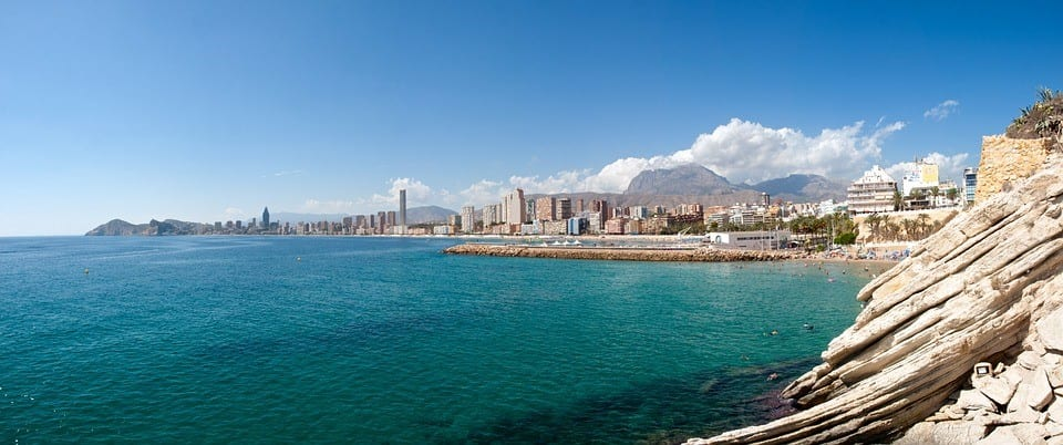 Beach in Benidorm