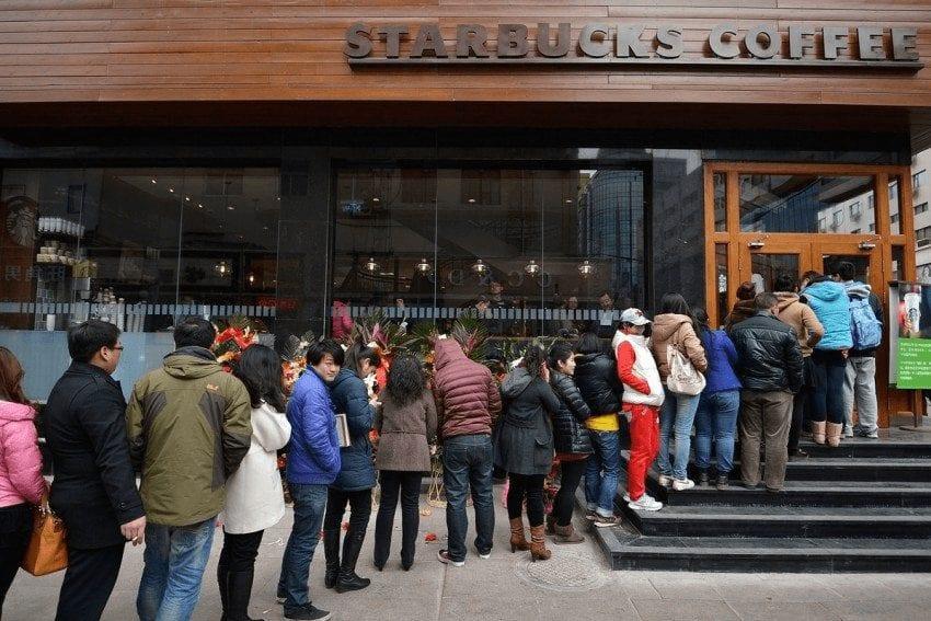 consumidores de cafe