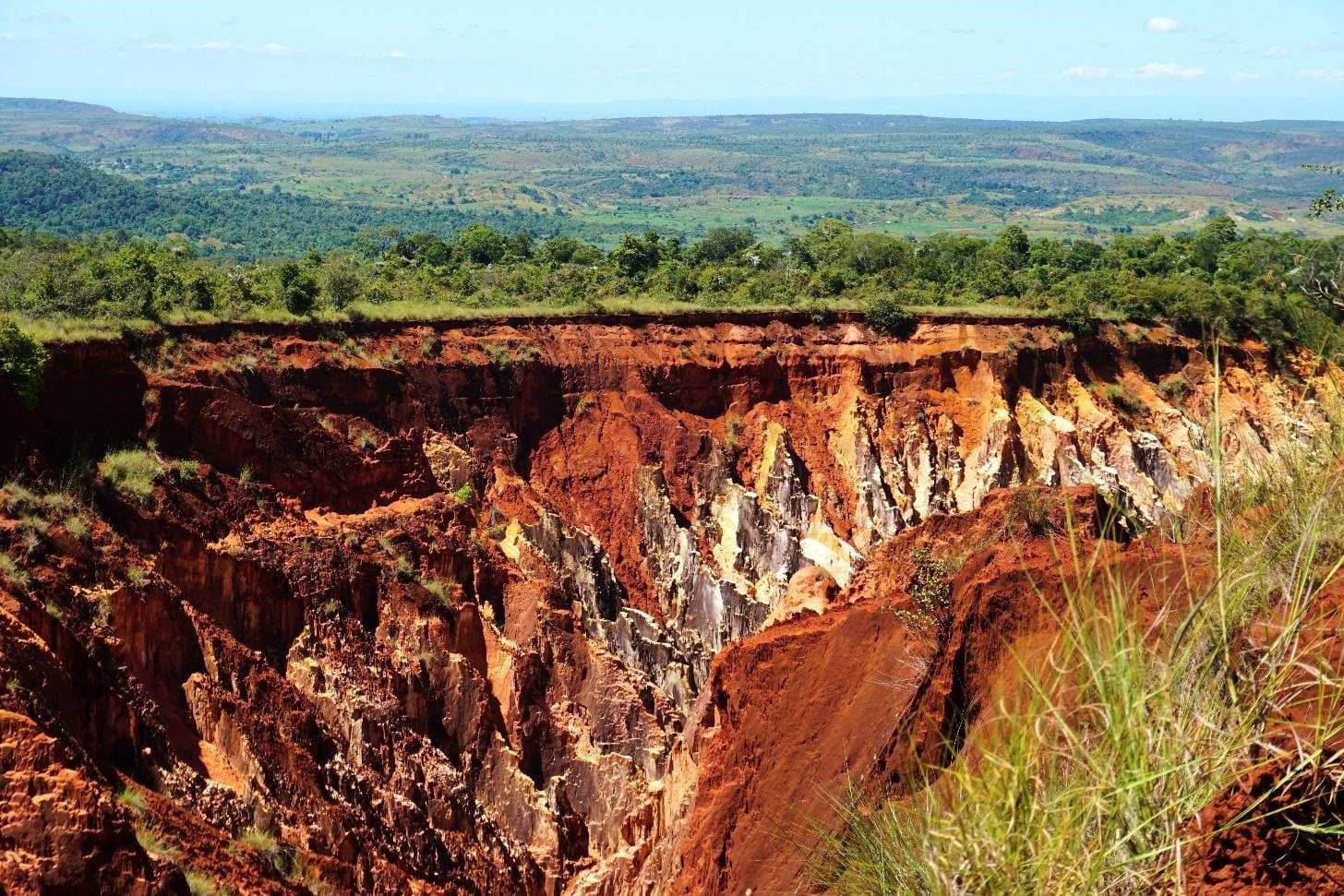 massive erosion
