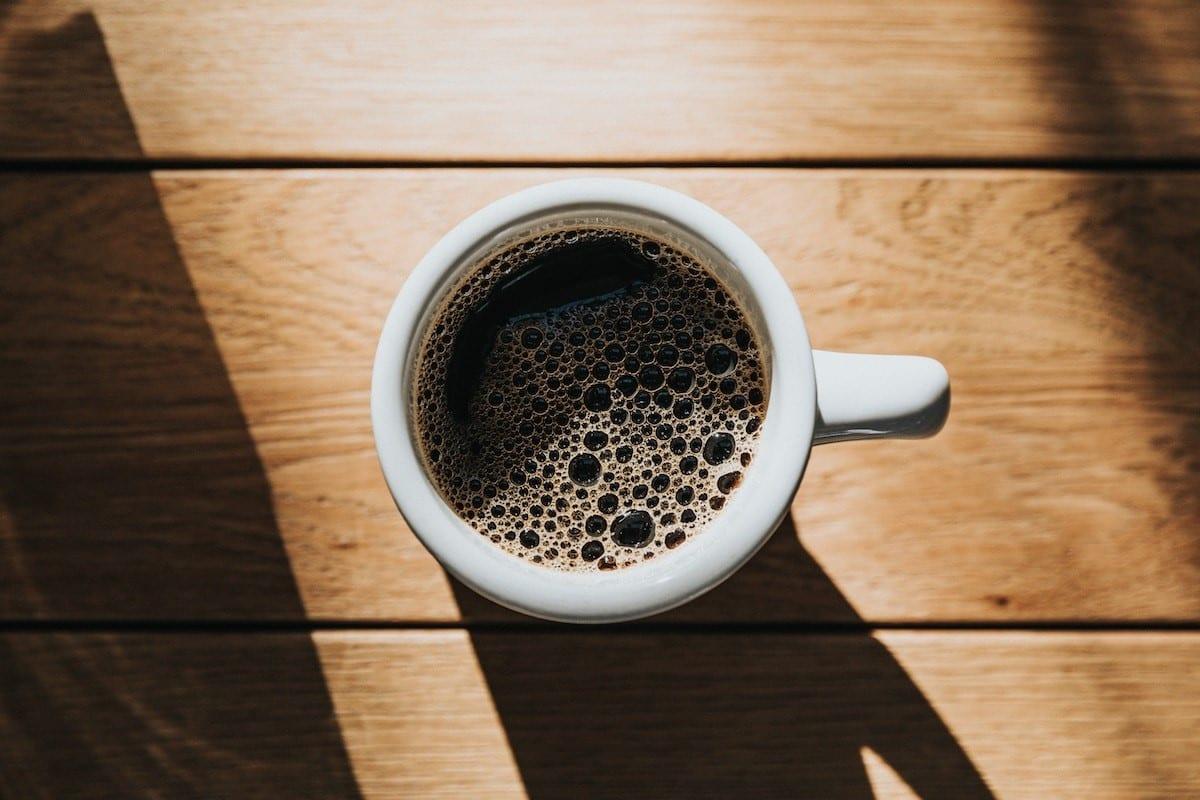 cafe recien preparado