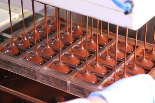 preparacion del licor de chocolate