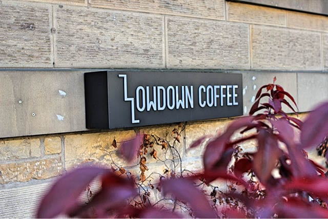 lowdown coffee from outside