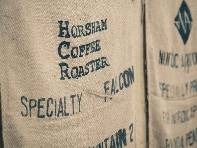 sacos de cafe listos para usar