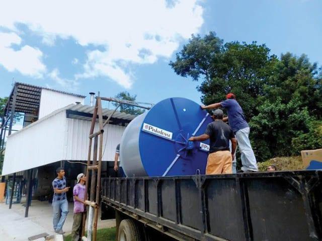 secadora mecanica de cafe en Brasil