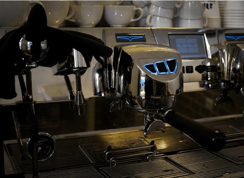 grupo de maquina espresso