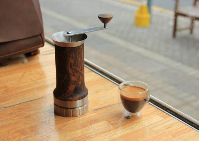 Un shot de espresso listo para tomar