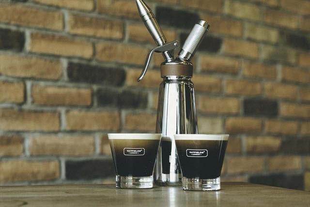 hatsfield London Nitropress and coffee drinks