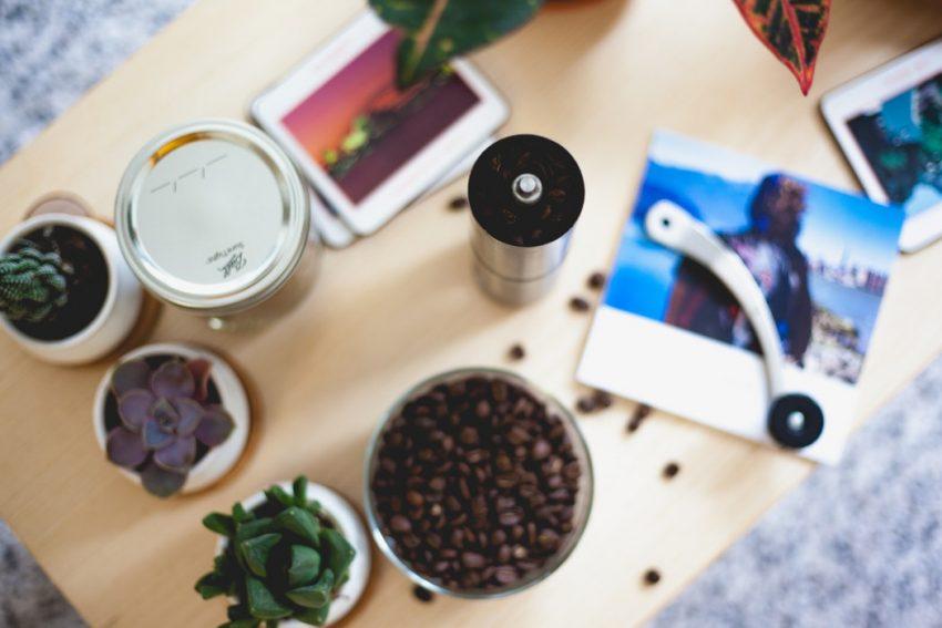 granos de cafe para moler