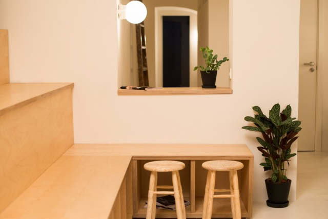coffee shop bright interior