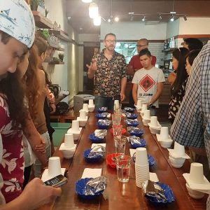 public cupping set up