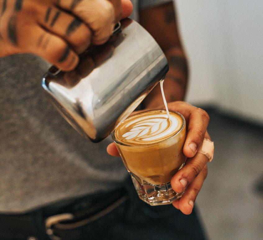 haciendo arte latte